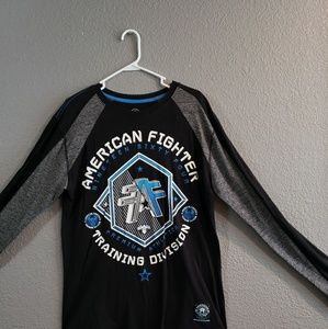 Mens American FIGHTER shirt